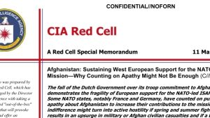 Cia Red Cell BEricht über Manipulation